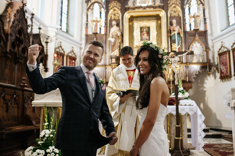 Międzynarodowe wesele Kąśna
