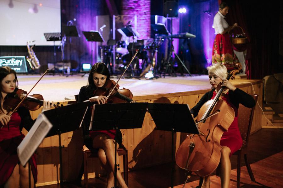Kwartet smyczkowy naślub